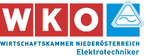 WKO NÖ Elektrotechniker Logo